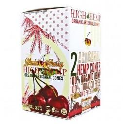 High Hemp Blazin Cherry Cones