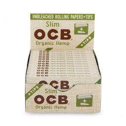 OCB Slim Rolling Papers & Tips