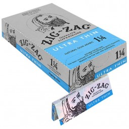 Zig Zag Ultra Thin Rolling Paper 1 1/4