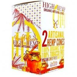 High Hemp HoneyPotSwirl Cones