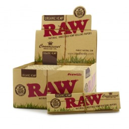 Raw Organic Connoisseur King Slim Size + Tip's