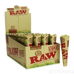 Raw Organic 1 1/4 Size Cone's