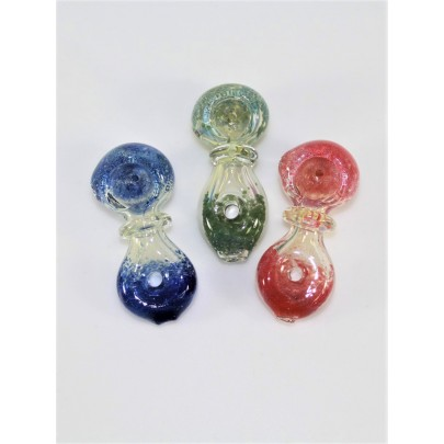 2.5'' Donut Shape Design Glass Hand Pipe