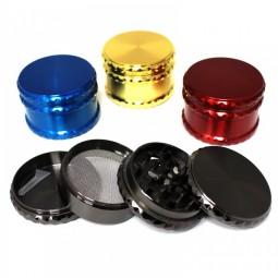 4 Part Assorted Color Heavy Zinc Grinder 63 MM