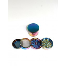 4 Part Rainbow Color Heavy Duty Grinder 63 MM