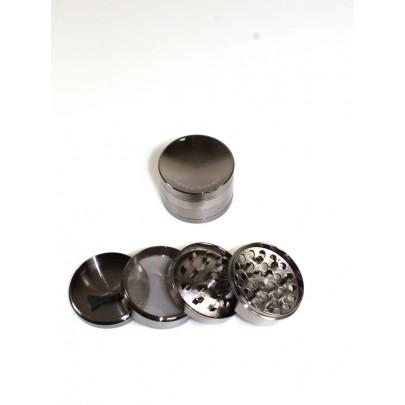 4 Part Dome Design Zinc  Heavy Grinder 63 MM