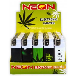 Neon Electronic Lighter