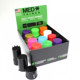 """Med Tainer Small Proof Grinder 12 Pcs Per Pack """"MADE IN THE USA"""""""