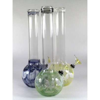 12'' Round Art US Made Color  Water Pipe  Regular