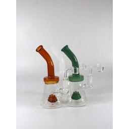 7'' Beaker Tube Color water Pipe With 4 MM Quartz  Banger