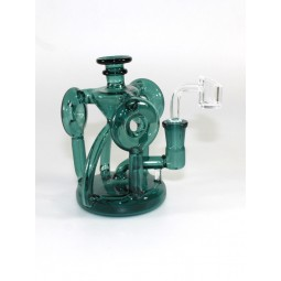 6'' Recycle Design New Design Dab Rig With 14 MM Male Banger