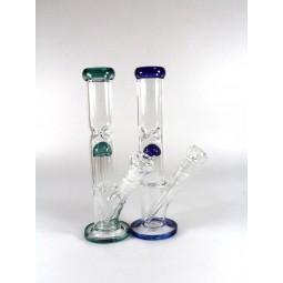 10'' Straight  Percolator Water Pipe G-G